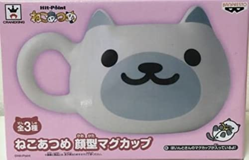 Cat collect face type mug point's (single)