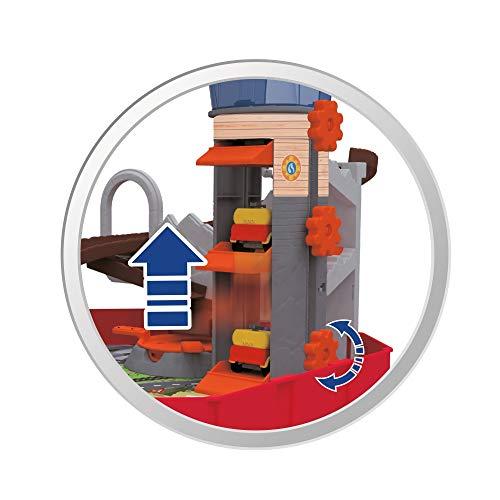 Giochi Preziosi - Sam il Pompiere Valigetta con Jeep Die Cast e Accessori, 3 mesi -8 anni