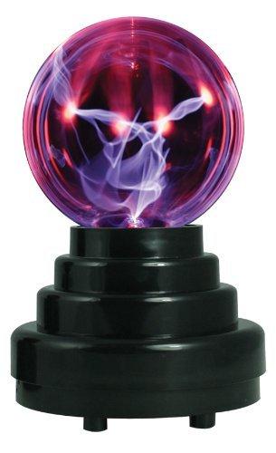EUGO Luz sensible al tacto de la bola del plasma Bola mágica de la luz del relámpago de la esfera para las fiestas, las decoraciones, el apoyo, los cabritos, el dormitorio, el hogar y los regalos