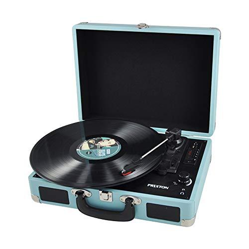 PRIXTON VC400 - Tocadiscos de Vinilo Vintage, Reproductor de vinilo y...