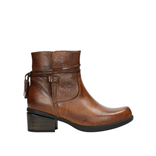 Wolky Comfort Stiefel Pamban - 39430 Cognac Leder - 37