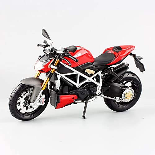 El Maquetas Coche Motocross Fantastico 1:12 para Ducati Street Fighter S Simulación De Aleación Modelo De Motocicleta Colección Decoración Regalo Coche De Juguete Regalos Juegos Mas Vendidos