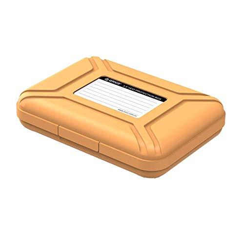 Barley33 3,5-Zoll-Festplattengehäuse Schutzbox/Aufbewahrungskoffer Staubdicht Antistatisch Stoßfest