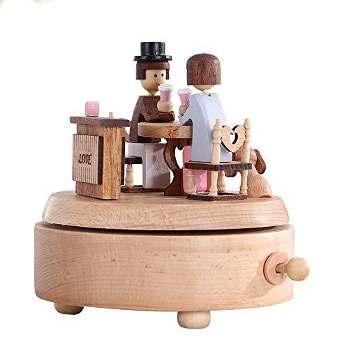 Music Box Music Box DIY met de hand aangezwengeld kinderen 3D volwassen 3D solid puzzel geschenken speelgoed QPLNTCQ