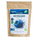 BIOKIA Bio Heidelbeerpulver 100% Frucht aus finnischen Bio-Heidelbeeren, Superfood für Smoothies ohne Zuckerzusatz 150g