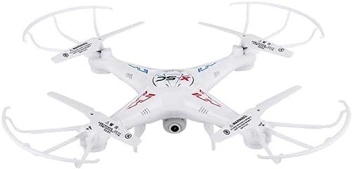 NJYT Drone HD Wi-FI Caméra Mode sans TêteRC Hélicoptère Fonction Spin Haute Vitesse Home Quadcopter LED Lumières pour Garçons Filles Enfants Adolescents ( Couleur   Blanc , Taille   B )