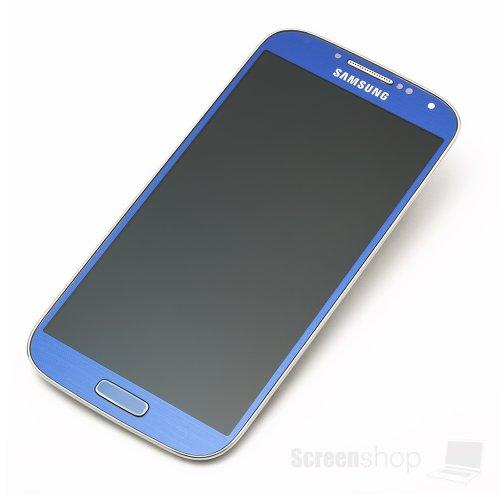 Samsung MEA Front Octa Ersatz-Display LCD für GT i9505Blau