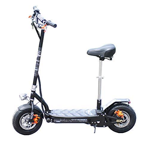 CityStreet 1500W/48V/12aH/Litio Blanco Gran-Scooter