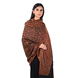 Pashmoda- Women's Faux Pashmina Jamawar Shawl, Wrap(SIZE: 40X80 Inches) 9 41lZ LcGjlL. SL500 . SS300