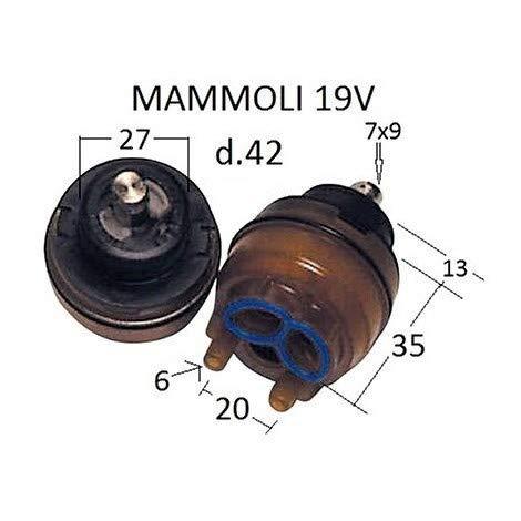 Cartuccia MAMOLI QUARZOVIP 2D 0019/V