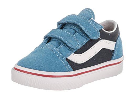 Chaussures Vans Td Old Skool V Toddler Cendre Blue