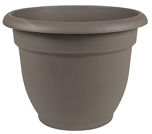 Bloem 100533305 Bloem Ariana Self Watering Planter, Peppercorn