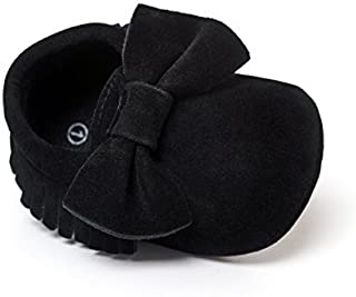 Best baby girl black moccasins Reviews