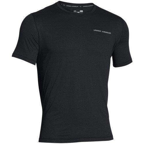 Under Armour Tank Charged T-shirt manches courtes pour homme XXXL Noir - Noir
