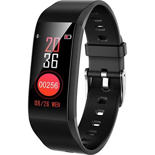YWLINK Smart Watch PodóMetro Banda Impermeable Monitor De Ritmo CardíAco Pulsera Rastreador De Ejercicios Regalo De Salud Reloj Deportivo para Android/iOS
