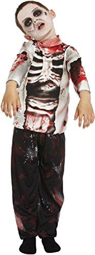 Bambino Zombie Ragazzo 4-12 Anni - 10-12 anni