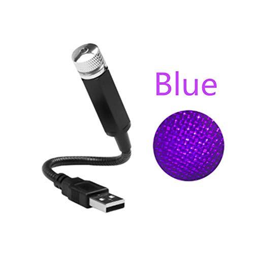 USB bureaulamp USB Decoratieve Lamp Led Auto Dak Ster Nachtlampje Projector Verstelbare Meerdere Verlichting Effecten Sfeer Galaxy Lamp