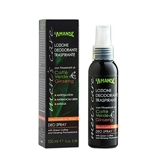 L'Amande Deo Spray emoliente No Alc.Men's Care 100 ml – 100 ml