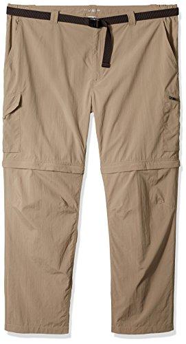 Columbia Pantalón Convertible Silver Ridge de 36 Pulgadas para Hombre, Hombre, 1441675, Salvia, 50W x 30L Big Tall