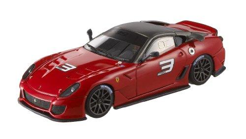 Hotwheels - T6263 - Voiture Miniature - Elite (Mattel) - Ferrari 599XX {Rouge} - Echelle 1/43