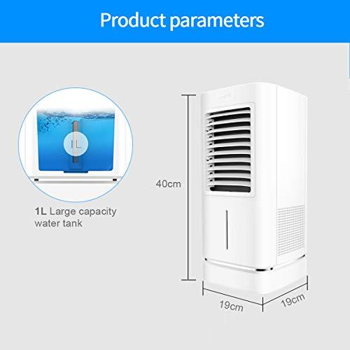 Appareil de climatisation mobile, personnel et silencieux 90 W Hautes performances Mini...