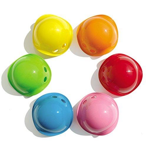 Moluk 2843013 - Bilibo Mini, Packung mit 6 verschiedenen farben, grün/blau/rot/gelb/orange/pink