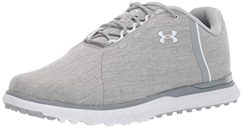 Under Armour Fade SL Sunbrella, Scarpe da Golf Donna, Grigio (Blue Overcast Gray/Steel/White 100), 37.5 EU