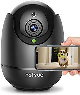 Dog Camera - 1080P FHD Pet Camera with Phone App, Pan/Tilt/Zoom Home Camera with 2-Way Audio, AI Human Detection, Night Vi...
