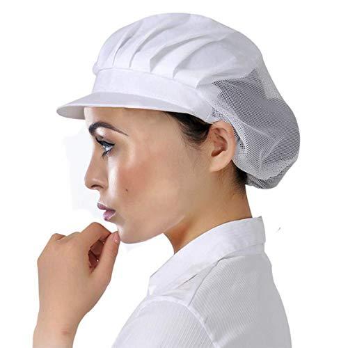 Cityelf Gorro de Cocinero Ajustable Sombrero para cocinar y restaurante Gorra para...