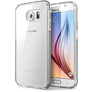Samsung Galaxy S6 Clear Phone Case Ultra Slim Transparent Crystal Clear TPU Protective Soft Gel Back Thin Cover Case for Samsung Galaxy S6 2015 【Storm Buy】  Clear
