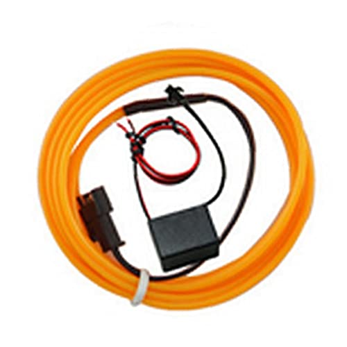 Luces de Coches EL EL Cable de Alambre Flexible Luces de neón...