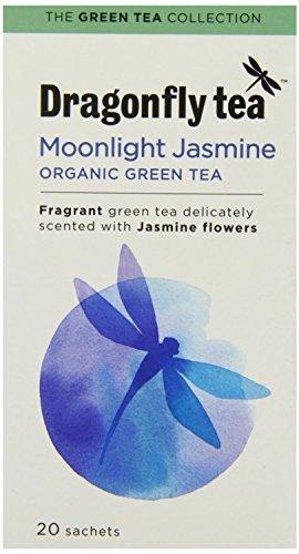 Libellentee Bio Mondlicht Jasmin grün 20 Teebeutel