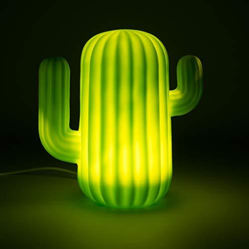 Mustard Cactus - Luz LED, color verde