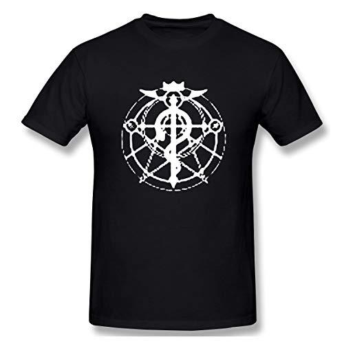 Fullmetal Alchemist Brotherhood: Flamel Cross T-Shirt, Adult Large