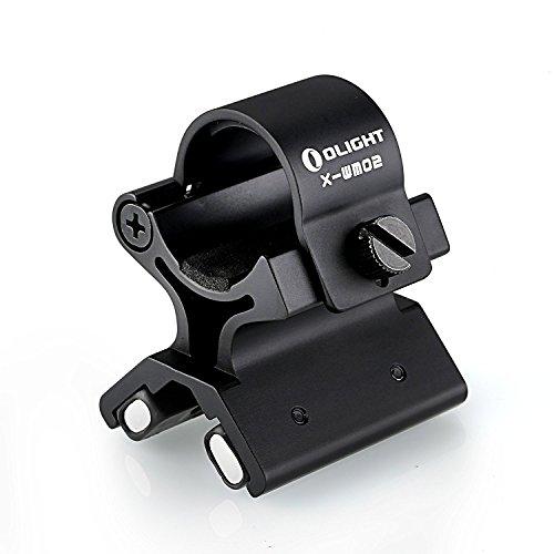 """Adatto per torce elettriche con un diametro di 3/4 in. a 1 pollice (23-26mm) Magneti su entrambi i lati sono molto potenti, non si stacca, non importa quale sia il declino Montare su qualsiasi fucile da 3/4 """"a 1 1/2"""" canna di fucile o di pistola Perf..."""