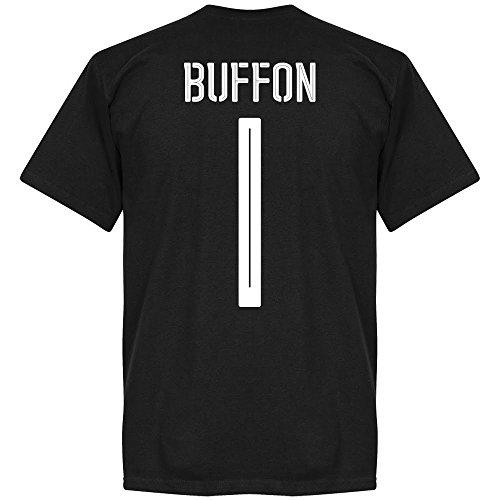Italien Buffon Team T-Shirt - schwarz - L