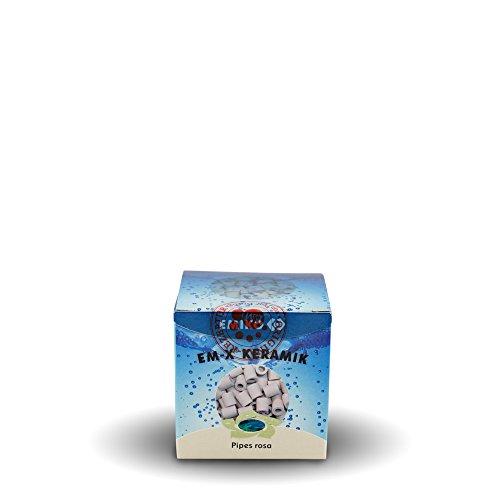 EM-X® Keramik Pipes rosa 80 g zur Schadstoffbindung im Wasser