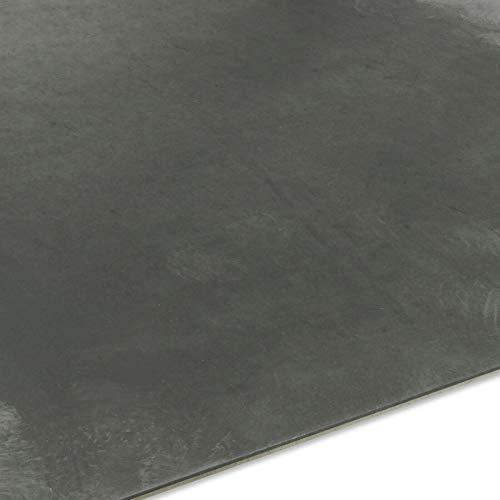 1-6mm Stahlblech Zuschnitt Platte Blech Zuschnitt Stahlplatte Feinblech (Stahl 5mm, 600x600mm)