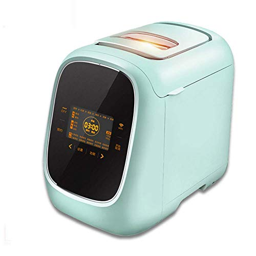 Lowest Prices! LUSHUN Automatic Bread Maker, Multifunctional Bread Machine with Fruit and nut Dispen...