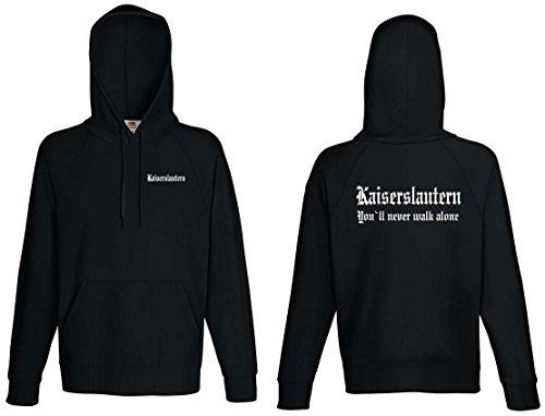 world-of-shirt Kaiserslautern Herren Kapuzensweat Ultras|ez