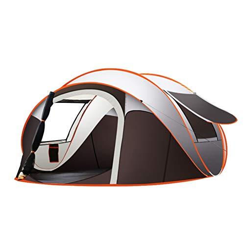 Tienda de camping grande al aire libre Despliegue completo automático Instantáneo de la tienda impermeable Familia Multifuncional Portátil Portátil Portátil Tienda de Tienda de Tienda de Tent Tents Ti