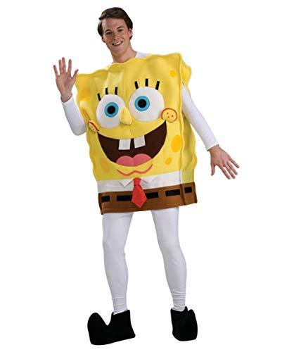 Horror-Shop Spongebob Deluxe Kostüm für Fasching & Karneval Standard