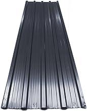 Deuba ® Chapas perfiladas | techo tejado pared | chapas de metal | 129cm x 45cm = 7 m² | trapezoidal |