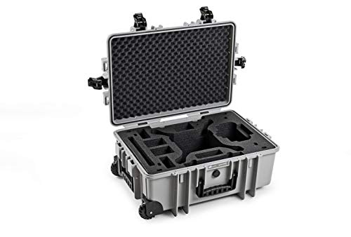 B&W Outdoor Cases Tipo 6700 con dji Phantom 4 Inlay Maleta para dji Phantom 4, Pro, Pro+, Pro V2.0, Advanced , Obsidian, RTK - El Original