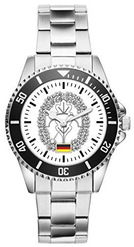 Soldat Geschenk Bundeswehr Artikel Pioniere Barettabzeichen Uhr 1221