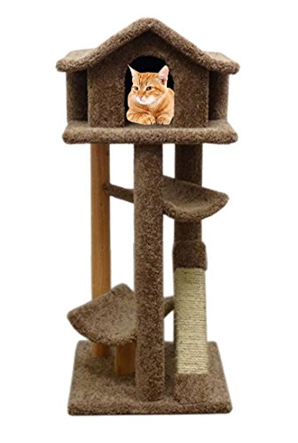Pagoda House Cat Large Tower