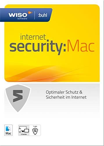 WISO Internet Security:Mac  – 3 Geräte, 1 Jahr [Online Code]