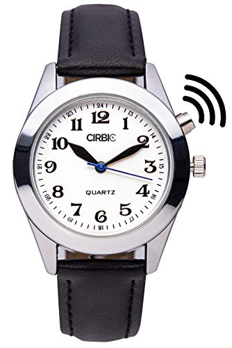 Large Talking Watch for Visually impaired, Blind (Black)