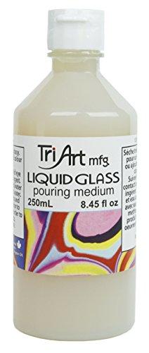 Tri-Art Liquid Glass Pouring Medium 250mL