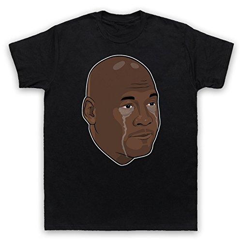 Death To Videodrome Crying Jordan Face Meme Basketball - Camiseta para hombre...